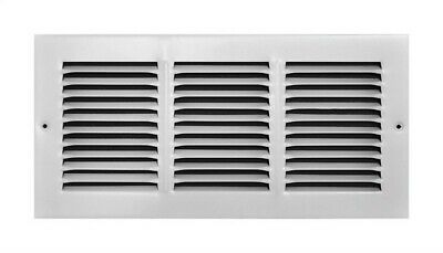 True Aire Return Air Grille 14 X 6 White Powder Coated