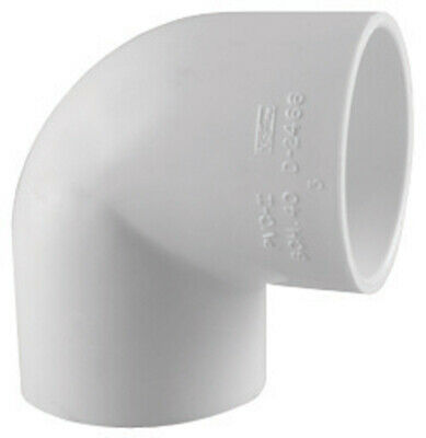 """Charlotte Pipe Elbow 3/4 """" Fpt 3/4 """" 90 Deg. Pvc Schedule 40 Pack of 25"""