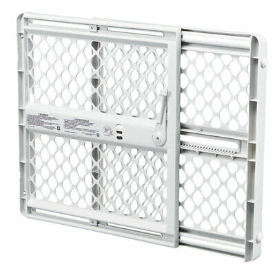 North Shore Pet Gate 26 In. H X 26 In. To 42 In. Gray Iron