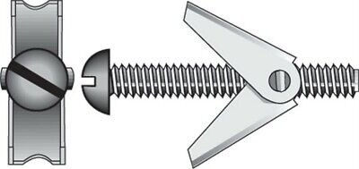 "Hillman Toggle Bolt 1/8 "" X 3 "" 50 Lb. For 3/8 "" - 2 15 / Card Pack of 5"