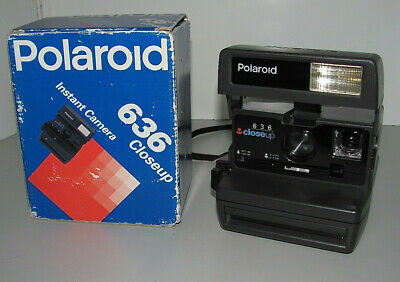 """Polaroid 636 Close-Up Instant Camera Working & Tested As New Condition """"L@@k"""""""