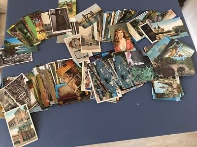 Picture Post Cards Lot - Vintage & Modern Mix- 30+ Cards - From Large Collection