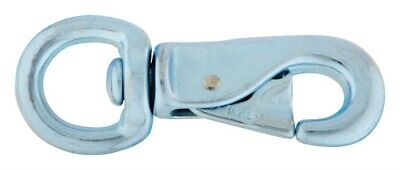 "Campbell Chain Animal Tie Snap 300Lb 4-5/8"" 7/8"" Round Swivel Eye-PK 10"