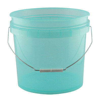 Leaktite Green Transparent Paint Pail 3.5 Gl Pack of 10
