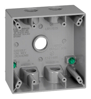 Outlet Box 2G 5 Hole