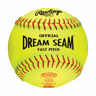 Worth Softball Fast Pitch 12 In. Cork Core Pack of 12