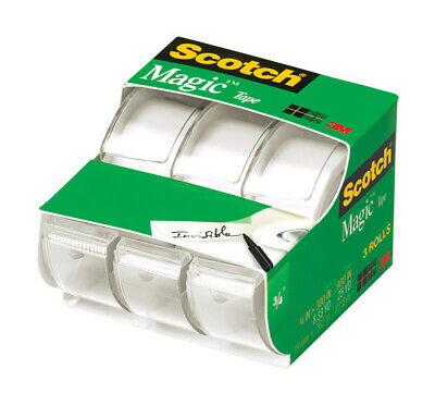 "Scotch 3105 3/4"" x 300"" Scotch® Magic™ Tape 3 Pack"