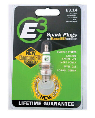 E-3 Sparkplugs Small Engine Spark Plug Model No. E3.-PK 6