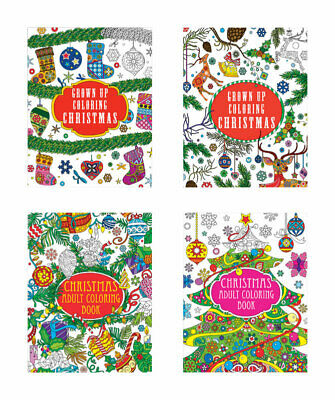 Diamond Visions  Adult Christmas  Coloring Book  1 pk