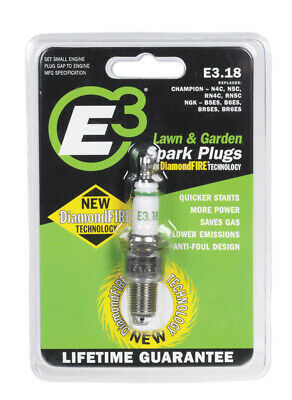 E-3 Sparkplugs Small Engine Splark Plug Model No. E3-PK 6