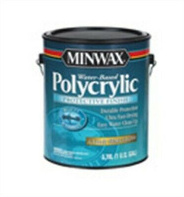 MINWAX WATER-BASED POLYCRYLIC Water Based Ext  Int  Semi Gloss Clear 1  Gl-PK 2