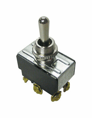 Gardner Bender  20 amps 20 amps Double Pole  Momentary Switch  Black/Silver  Tog