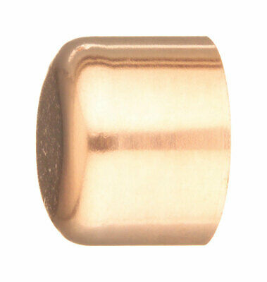 Elkhart  Schedule 40  1/2 in. Sweat   Copper  Cap  End Cap