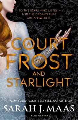 NEW A Court of Frost and Starlight By Sarah J. Maas Paperback Free Shipping