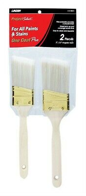Linzer Products A 21402S Polyester Project Select™ Angle Paint Brush Set 2 Pack