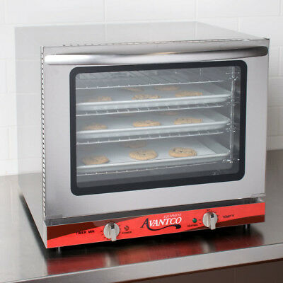 Avantco 1/2 Size Electric Countertop Commercial Convection Oven 208/240V NEW