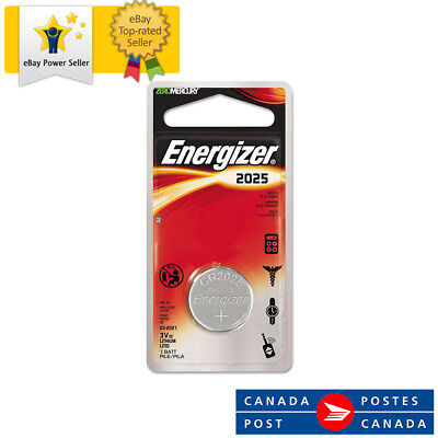 1x Energizer Lithium CR2025 batteries 3V Coin cell EXP:2025 single battery