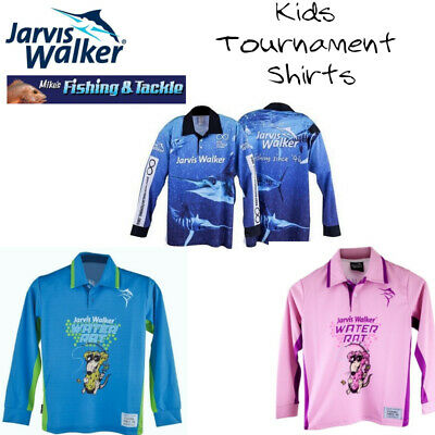 Jarvis Walker Kids Tournament Fishing Shirts - Choose Style