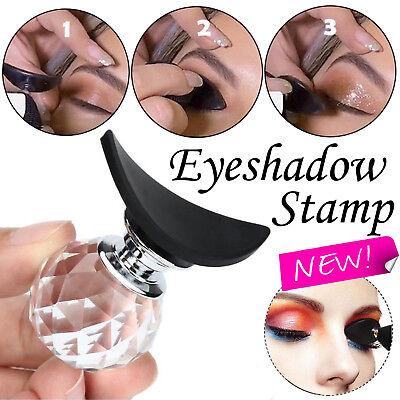 Silicone Eyeshadow Stamp Crease Fashion Eye Shadow Perfect Applicator Makeup