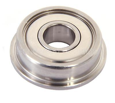 SF63800ZZ 10x19x7mm Stainless Steel Ball Bearing, Flanged (Pack of 30)