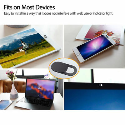 Webcam cover 0.026in Ultra-Thin Web Camera Cover for Laptops Macbook Pro
