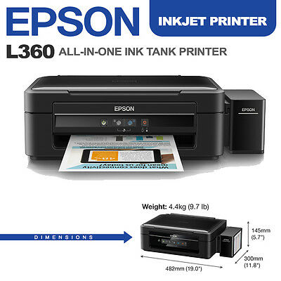 Brand New Epson L360 All-in-One Ink Tank Printer
