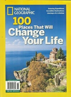National Geographic Special 2018 ~ 100 Places That Will Change Your Life ~ New ~