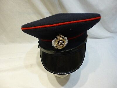 British Army Issue Mans Dress Uniform Forage Cap Corps of Royal Engineers Size56