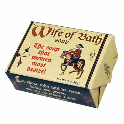 Soap Wife of Bath bathroom Fun Novelty Gift  Deluxe Vintage Branded Soap Lemon