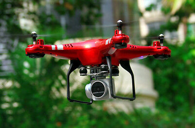Quadcopter RC Drone WiFi Wide Angle Lens HD Camera FPV Live Helicopter Hover