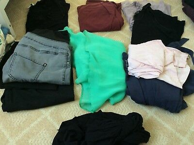 Bundle of size 8 maternity clothes (10 items)