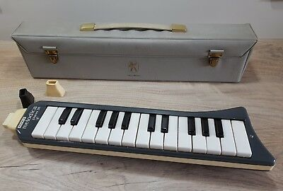 Hohner Melodica piano 26 -Made in Germany- TOP Zustand - 3 Mundstücke / Koffer