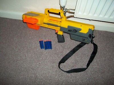 Nerf Gun Deploy CS-6 & Strap, N-Strike with Clip & Bullets,See Others & Combine