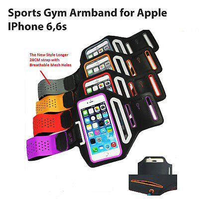 Sports Gym Running Exercise Slim Armband for iPhone 6 and 6S Arm Band Case