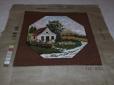Completed Tapestry - Tapex Vienna - House Scene