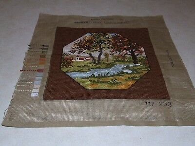Completed Tapestry - Tapex Vienna - Tree Scene