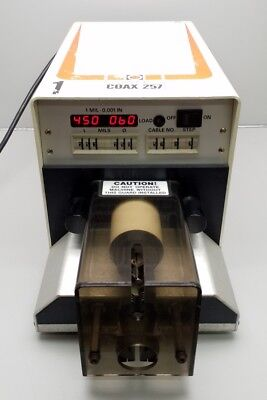Schleuniger Coax 257 Wire Stripping Machine 100-115Vac / 230-240Vac