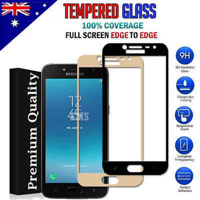 5D Full Coverage Tempered Glass Screen Protector For Samsung Galaxy J2 Pro 2018