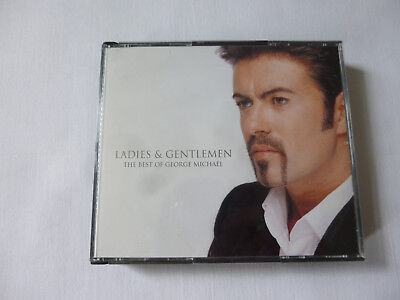 THE BEST OF GEORGE MICHAEL ~ LADIES & GENTLEMEN ~ 1998 UK DOUBLE(2x) CD FAT BOX