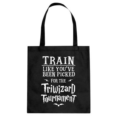 Tote Train for Triwizard Tournament Canvas Shopping Bag #3082