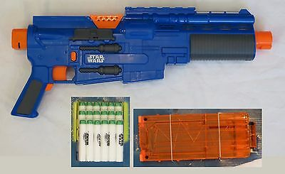 NEW Nerf Blaster ONLY Blue Star Wars Rogue One Captain Cassian Andor Eadu Deluxe