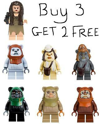 Ewok Star Wars Minifigure Ewoks Adventure Princess Leia Mini Figure Star Wars