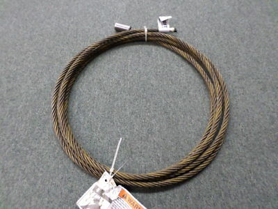 """Wright 50553M 25' 1/2"""" Steel Cable"""