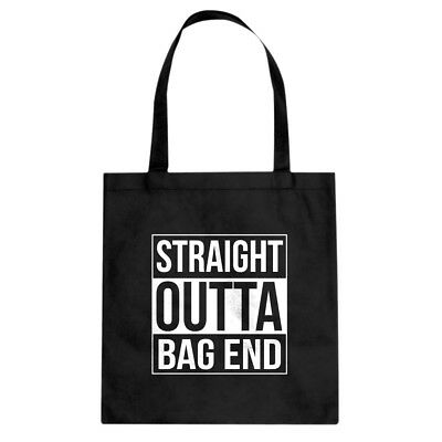 Tote Straight Outta Bag End Canvas Shopping Bag #3144