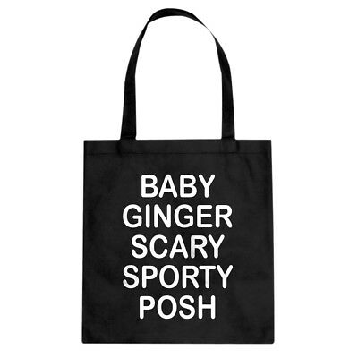 Tote Spice Names Canvas Shopping Bag #3558