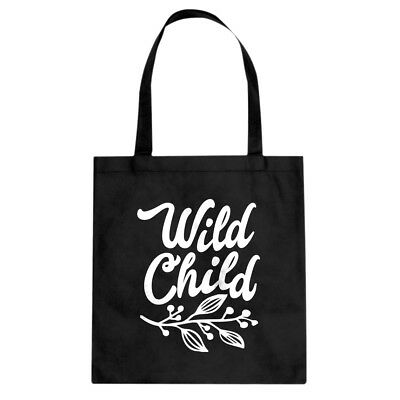 Tote Wild Child Canvas Shopping Bag #3118