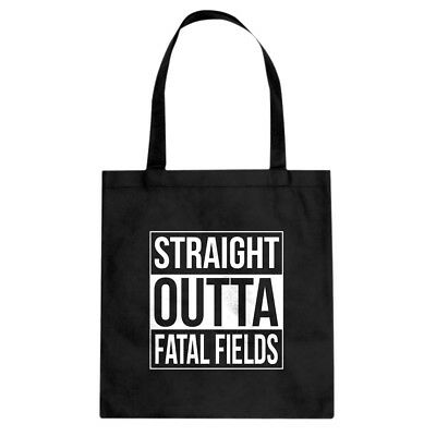 Tote Straight Outta Fatal Fields Canvas Shopping Bag #3352