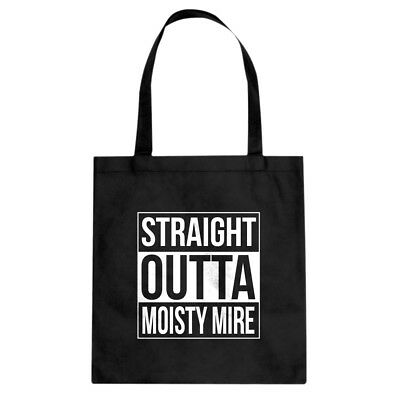 Tote Straight Outta Moisty Mire Canvas Shopping Bag #3365
