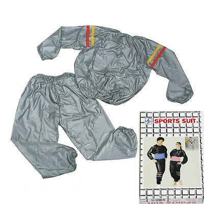 REX 357 Sauna Suit Sweating Weight Loss Suit Gym Unisex Workout Clothing