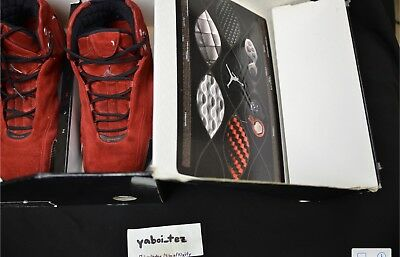 2005 Air Jordan 21 XXI Red Suede sz 9 Nike October Raging Bull 5 Toro 4 e1e0e3a06